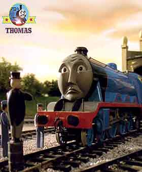 Thomas and friends Gordon the train on your best behavior today for the special coach VIP journey