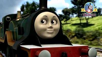 DVD movie CGI Thomas the tank engine Emily the train Single Sterling high speed beautiful express