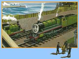 Every single story Thomas and his really useful engine friends Henry the Green Engine Toby the Tram