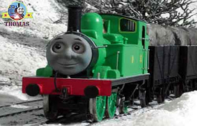 GWR Toad and Oliver engine was loaded up with party parcels for a traditional merry winter festival