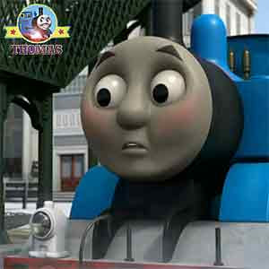 Thomas the train felt terrible about hats and caps Percy and James the tank engine were surprised