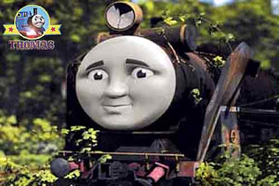 Thomas tank locomotive Hiro the tank engine a gentle and elderly abandoned patchwork steam engine