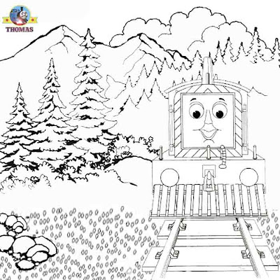 Thomas the train coloring pages for kids coloring fun art Thomas and friends Mavis the diesel engine