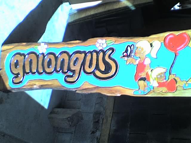 cartel de cabaña