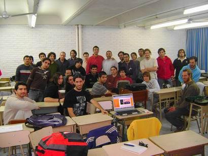 Grupo de Alumnos 2008 (segunda promoción)