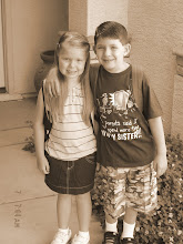 Caden and Mikki's First Day of School