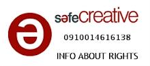 Licencia Safe Creative