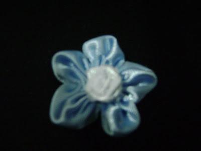Modelo Nº2: Flores a Base de Cintas