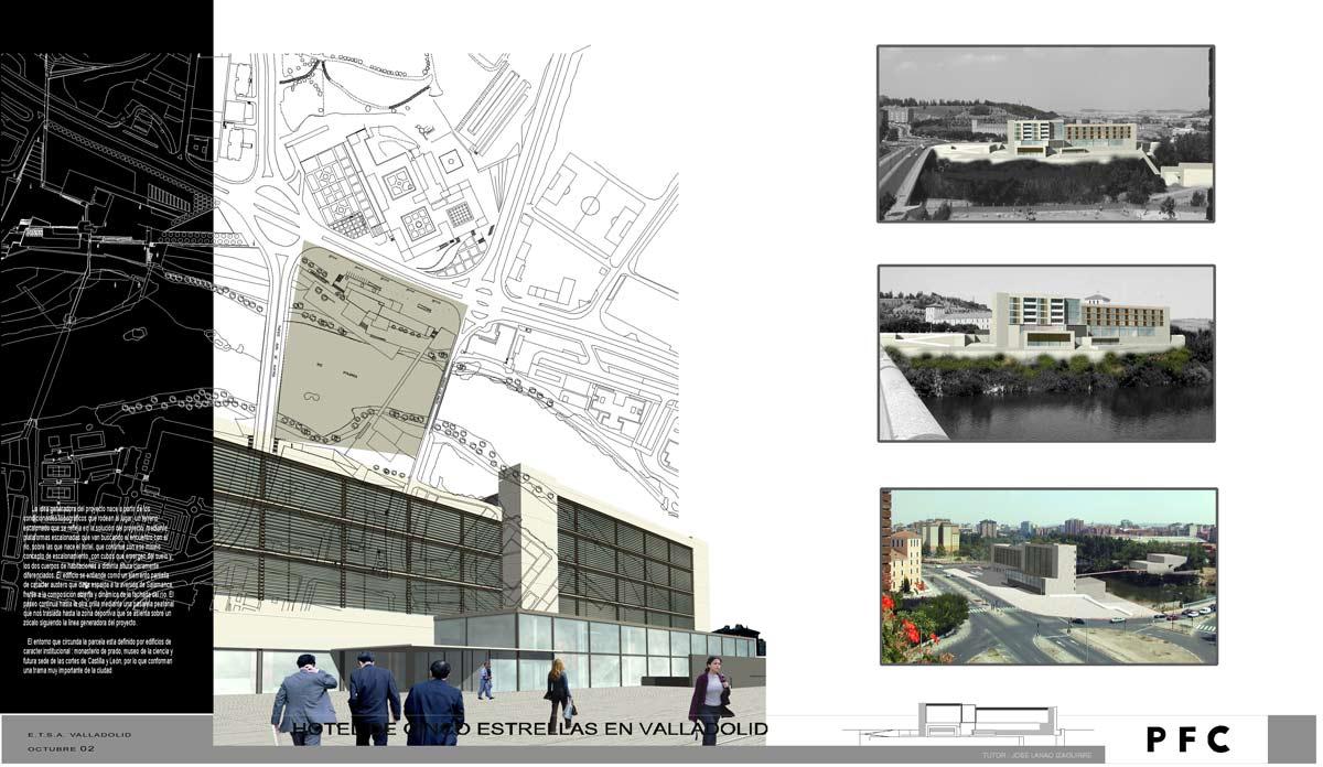 Proyectos de fin de carrera de arquitectura infograf a y for Carrera de arquitectura