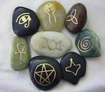 Pagan Tattoo with Thors Hammer Mjölnir, Wolf Triskel, Rune Forearm, Irminsul