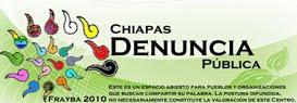 Denuncia Pública Chiapas 2010