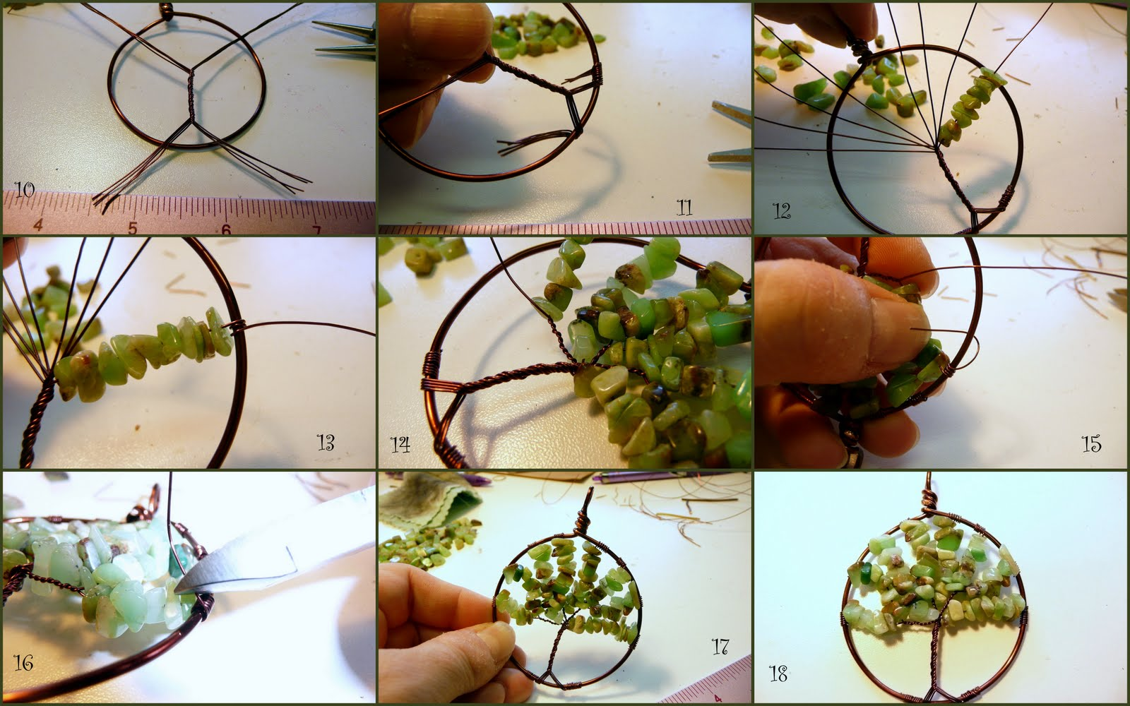 Tutorial - Tree of Life Pendant