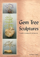 Gem Tree Sculptures by Dana James