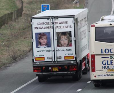 Eddie Stobart joins search for missing Maddie Stobart2