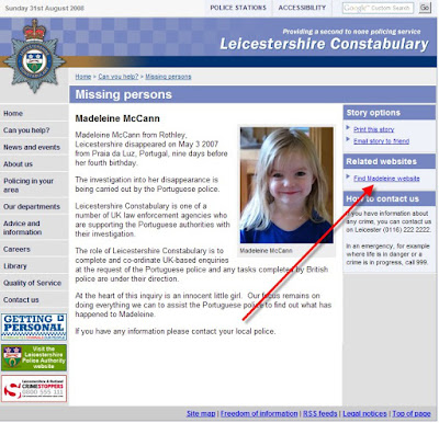 Leicestershire Constabulary  Leicestershire+unlawful+link
