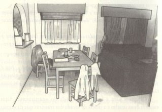 Chapter 11: Analysis of a crime scene, apartment 5A MaddieDiningRoom