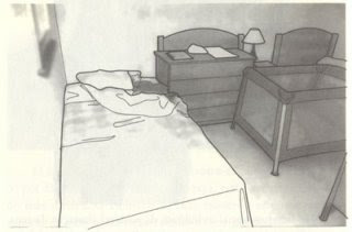 Chapter 11: Analysis of a crime scene, apartment 5A MaddieTurnedDownBed