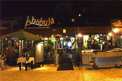 Chapter 22: At the Ria de Alvor, one year later, looking at the past with confidence in the future. Ababuja+restaurant