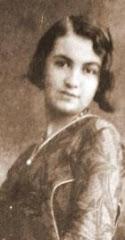 Lucilia Rosa em 1931. Acervo: Arquivo Público de Uberaba
