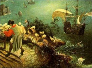 Fall of Icarus by Piter Bruegel The Elder