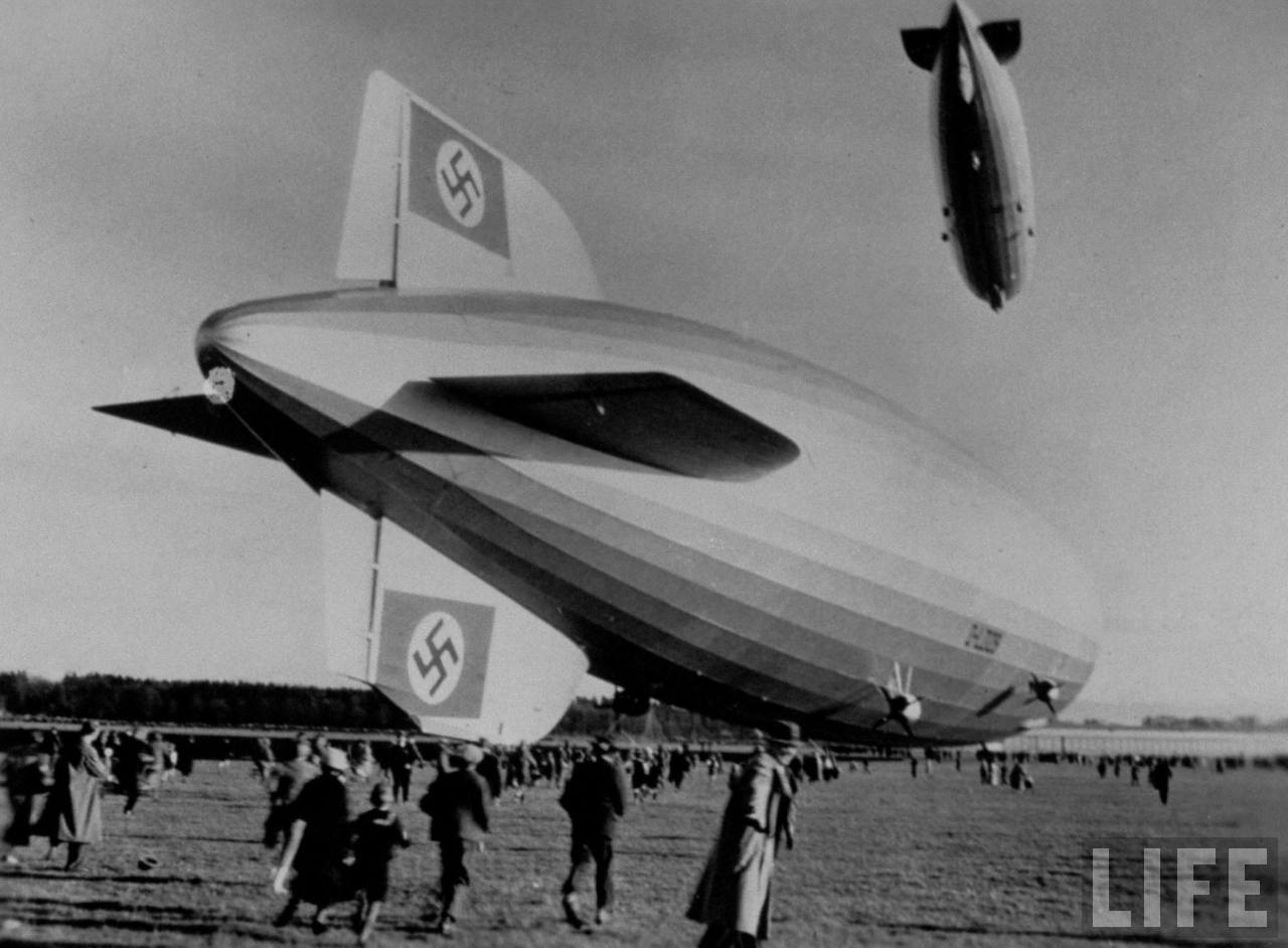 Misteri Tak Terpecahkan Di Balik Meledaknya Balon Zeppelin Hindenburg
