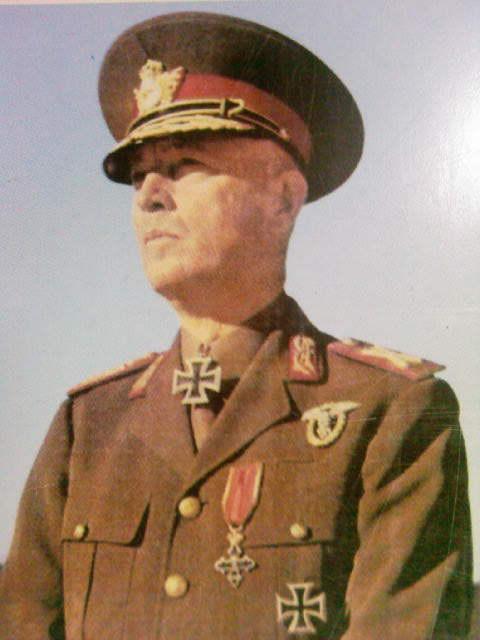 Magyar és német tisztek. | Hadsereg, Második világháború