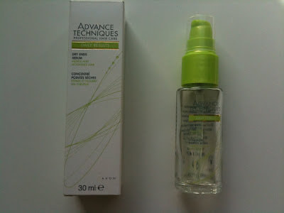 avon advance tecniques dry ends serum