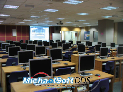 Michaelsoft DDS Diskless Solution , Cloud Computing , Diskless Cybercafe , Diskless System , Why never go Diskless in Education ? Michaelsoft DDS Diskless System in Education ,It's call Diskless Education , Diskless School or Diskless Cloud Computing in Education
