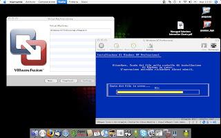 installando windows xp su mac osx