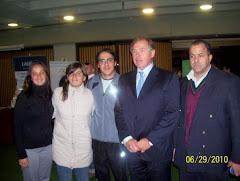 Apaoader junto al Presidente del COA, Gerardo Werthein