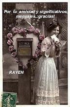 Este obsequio me lo ha enviado Rayen