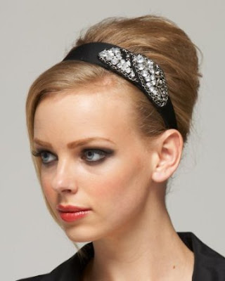 Wide Applique Headband