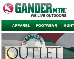 Gander Mountain coupons and deals