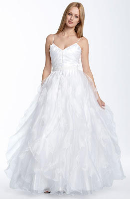 Sean Collection Chiffon Ball Gown