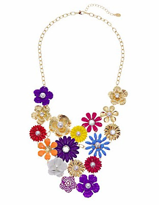 STEINMACHER floral necklace