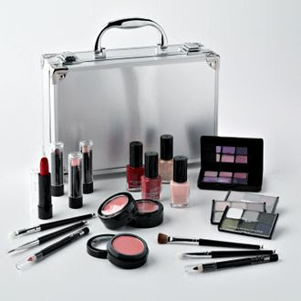 Bon Voyage Train Case Makeup Set