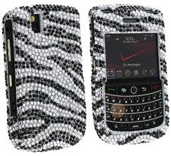 Clip-on Crystal Case for Blackberry