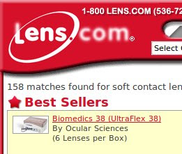 Lens.com Coupons and Deals