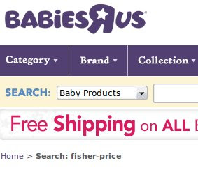 BabiesRUs Coupons and Deals