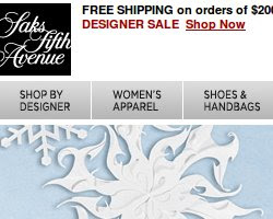 Saks Fifth Avenue Coupons and Deals