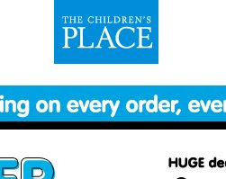 Childrens Place Coupons and Deals
