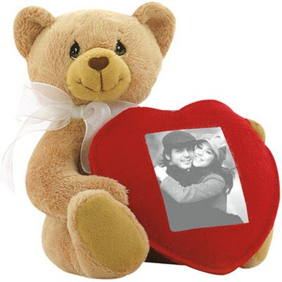 Plush Teddy Bear With Photo