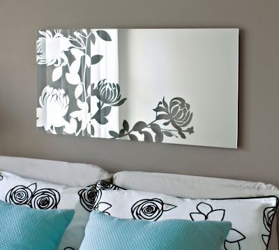 Melissa Floral Wall Mirror