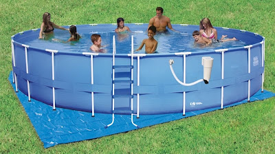 Round Frame Pool Set