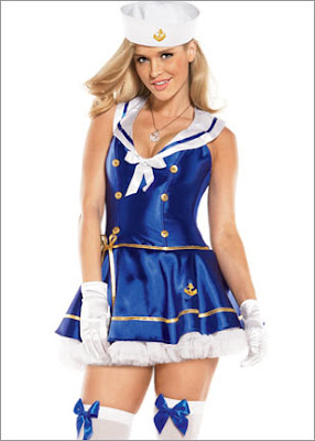 sexy Sultry Sailor costume