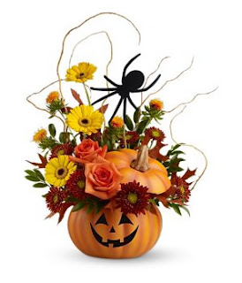 Spin a Web Halloween Bouquet