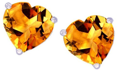 Citrine Gemstone Earrings