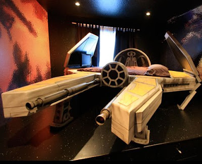 Space Fighter kid fantasy bed