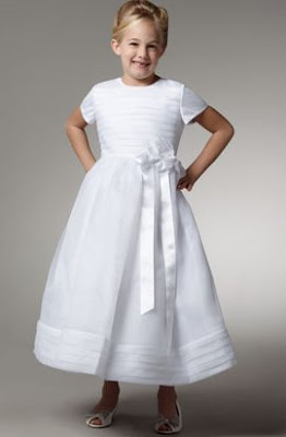 Organza Satin Cap-Sleeve Dress