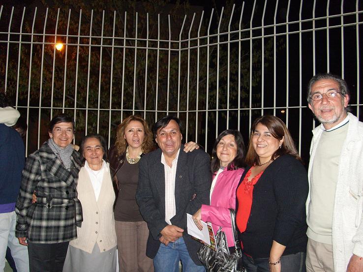 Ma. Angélica Carter Morales (la mamá) Diana Randazzo,Cali,Silvia Aquiles, C.Raimondo, Jorge Bertero
